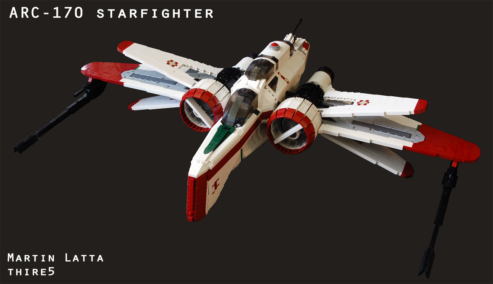 arc-170_starfighter - autor Robbed