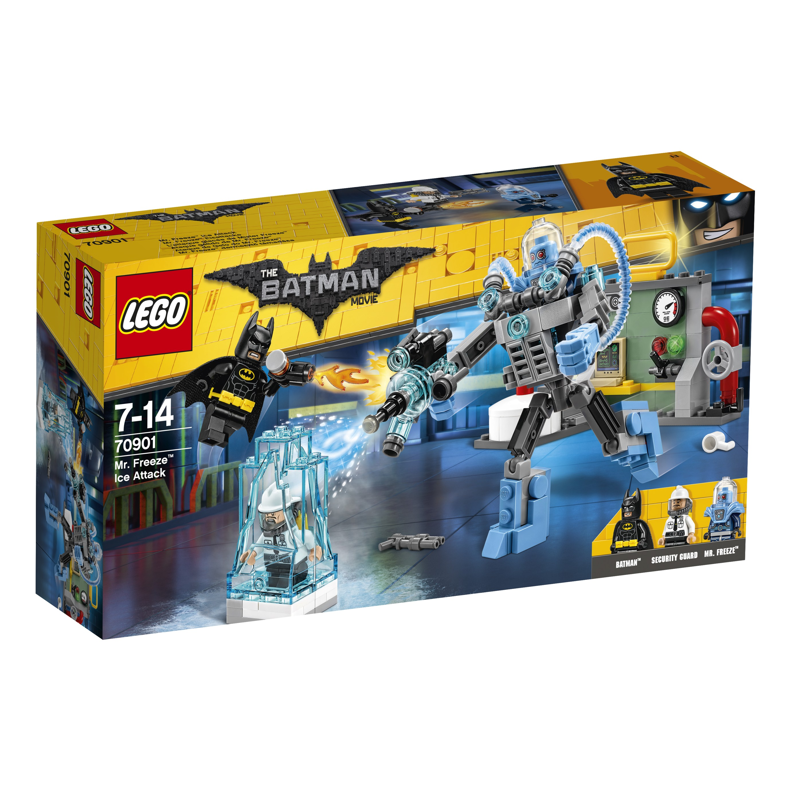 THE LEGO® BATMAN MOVIE 70901 Ledový útok Mr. Freeze™