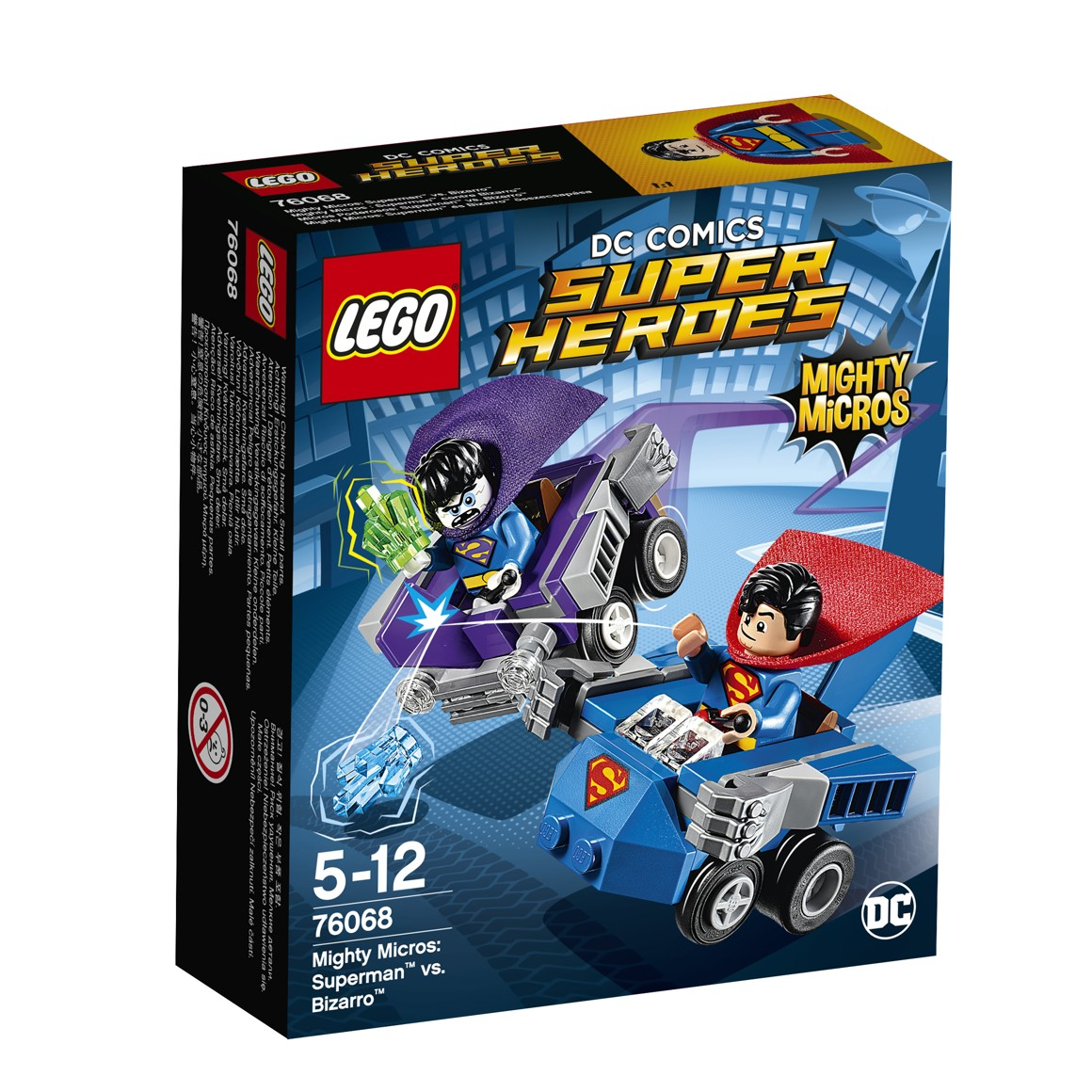 LEGO® DC Comics Super Heroes 76068 Mighty Micros: Superman™ vs. Bizarro™
