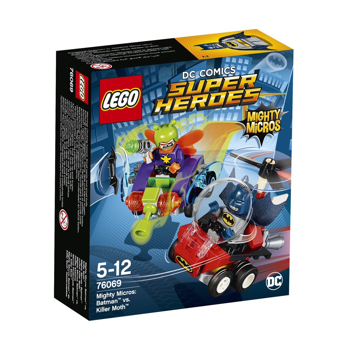 LEGO® DC Comics Super Heroes 76069 Mighty Micros: Batman™ vs. Killer Moth™