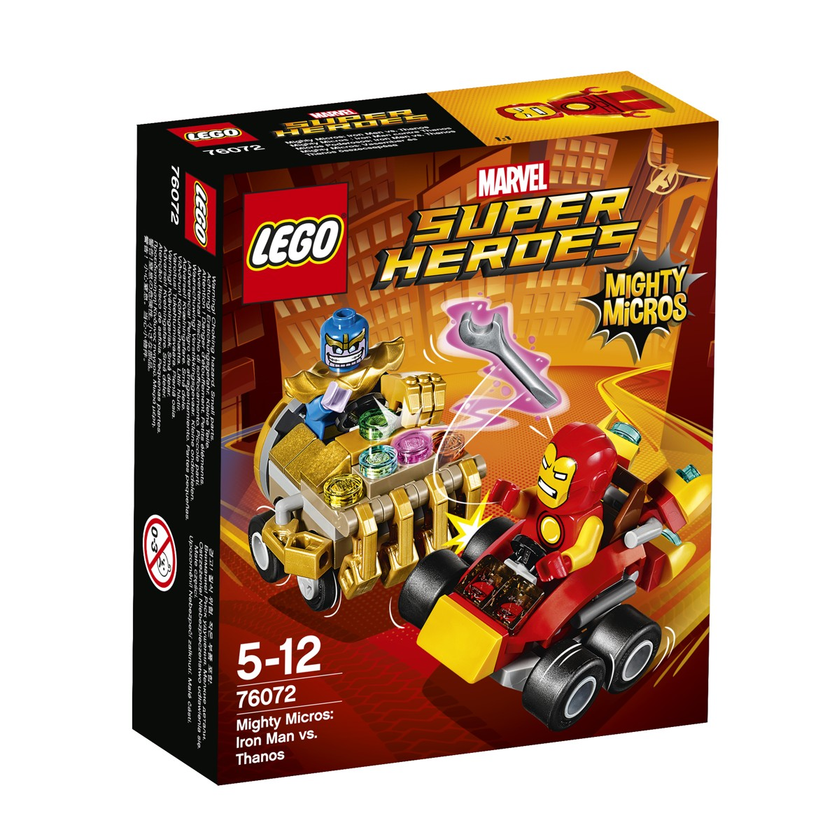 LEGO® Marvel Super Heroes 76072 Mighty Micros: Iron Man vs. Thanos