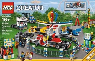 LEGO Creator 10244 Fireground Mixer - Lunapark