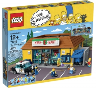 Lego 71016 The Kwik-E-Mart