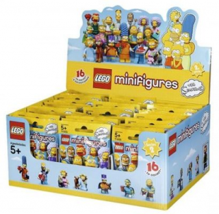 LEGO Minifigurky 71009 Orginal box 60 ks The Simpsons 2