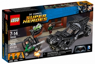LEGO 76045 SUPER HEROES Krádež kryptonitu