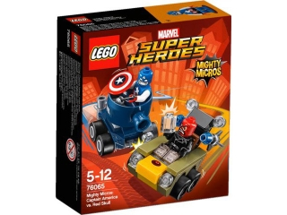 LEGO® Super Heroes - 76065 Mighty Micros: Captain America vs. Red Skull