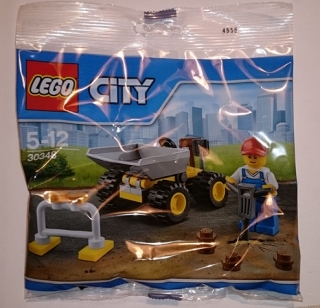 Lego City 30348 - Mini dumper polybag
