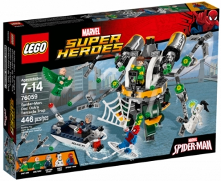 LEGO Super Heroes 76059 Spiderman: Past z chapadel doktora Ocka