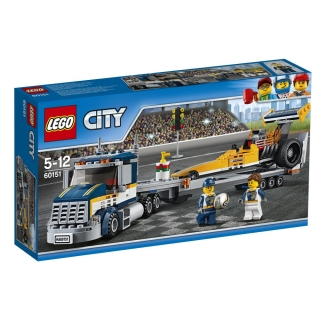 LEGO® City 60151, Transportér dragsteru