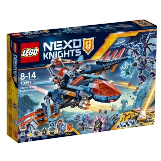 LEGO® NEXO KNIGHTS™ 70351, Clayuv letoun Falcon Fighter Blaster