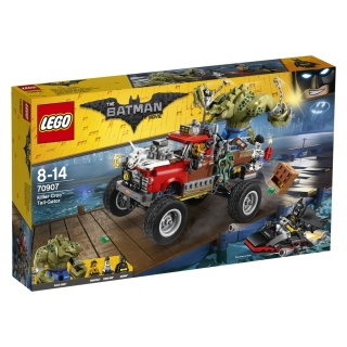 THE LEGO® BATMAN MOVIE 70907, Killer Crocuv Tail-Gator