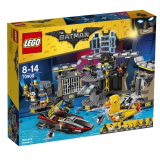 THE LEGO® BATMAN MOVIE 70909 Vloupání do Batcave