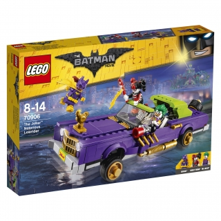 THE LEGO® BATMAN MOVIE 70906 Joker a jeho vůz Notorious Lowrider