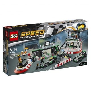 LEGO® Speed Champions 75883 MERCEDES AMG PETRONAS Formula One™ Team