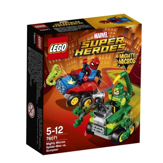 LEGO® Marvel Super Heroes 76071 Mighty Micros: Spiderman vs. Škorpion