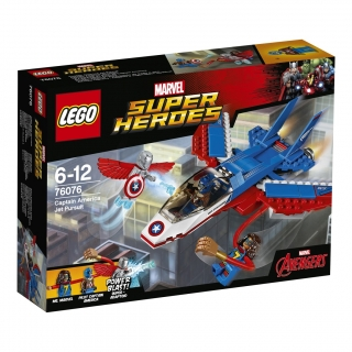 LEGO® Marvel Super Heroes 76076 Kapitán America a honicka ve stíhacce