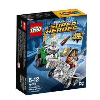 LEGO® DC Comics Super Heroes 76070 Mighty Micros: Wonder Woman™ vs. Doomsday™