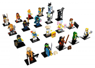Lego minifigurky 71019 NINJAGO MOVIE sada 20 ks figurek