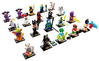 Lego minifigurky 71020 Batman MOVIE 2 (20 minifigurek sada)