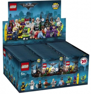Lego minifigurky 71020 Batman MOVIE 2 (krabice 60 ks minifigurek)