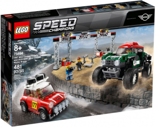 LEGO Speed Champions 75894 967 Mini Cooper S Rally a 2018 MINI John Cooper Works Buggy