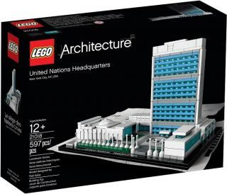 LEGO Architecture 21018 Sídlo OSN United Nations Headquarters)